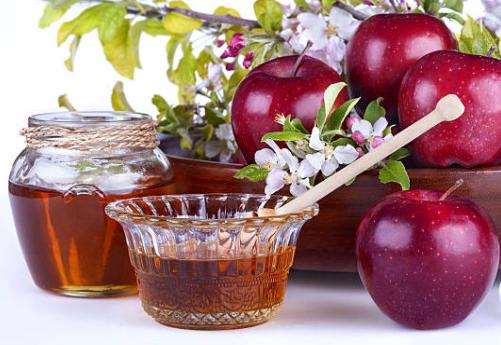 miel y manzanas