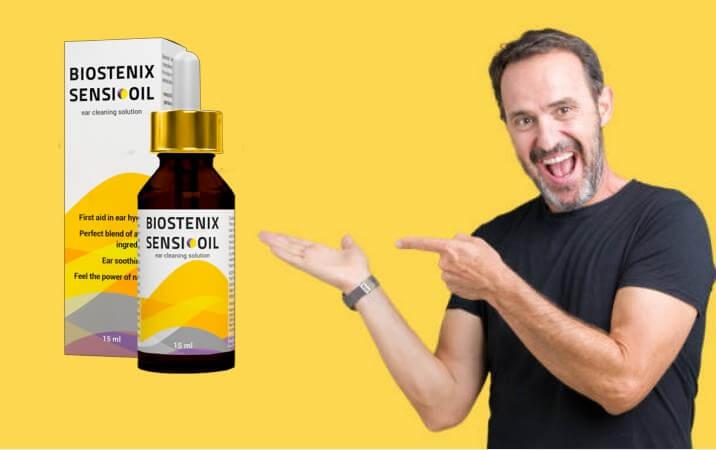 Biostenix Sensi Oil, hombre feliz