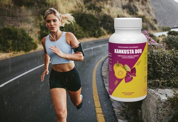 Kankusta Duo, mujer corriendo