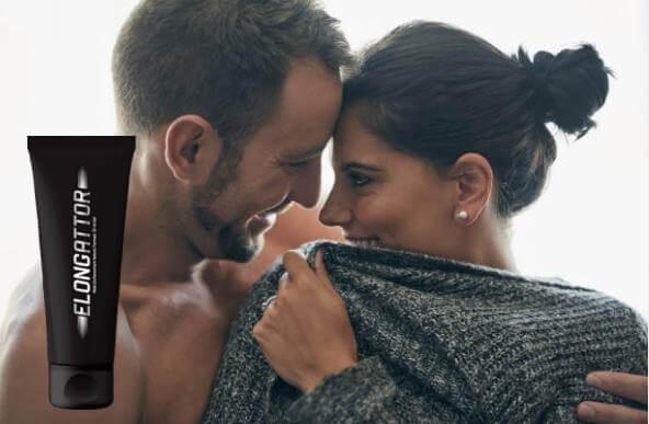 Elongattor, hombre abrazando a la mujer