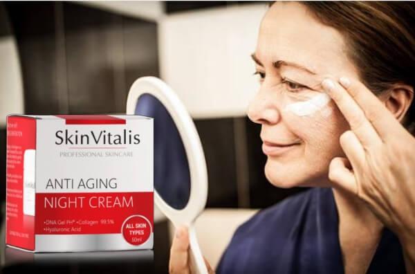 SkinVitalis, mujer, crema