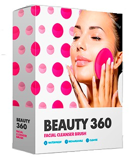 Beauty 360 facial cleanser brush