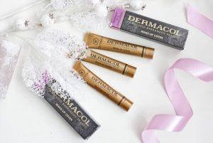 Dermacol – Fondo de Maquillaje en 3 Tonos Diferentes con Fórmulahipoalergénica!
