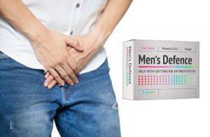 Men's Defence –Cápsulas Con Bio-fórmula Para Activar El Sentimiento Intimo e Impulso!