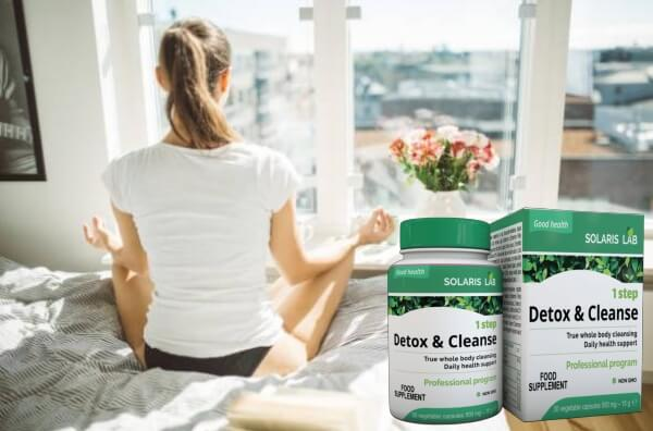 1 step detox & cleanse, mujer