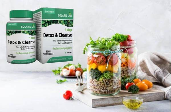 1 step detox and cleanse capsules