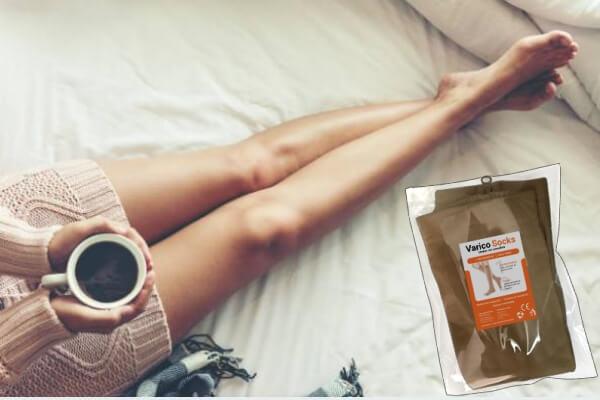 VaricoSocks, piernas sanas, mujer
