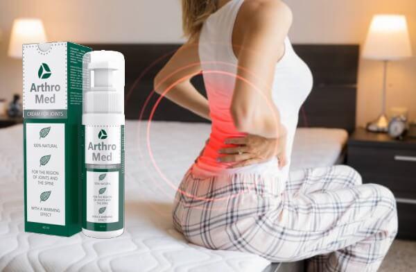 Arthromed, dolor de espalda, mujer