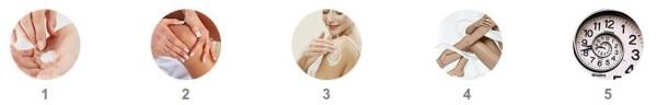 aplicar, cómo utilizar el crema las articulaciones, instrucciones