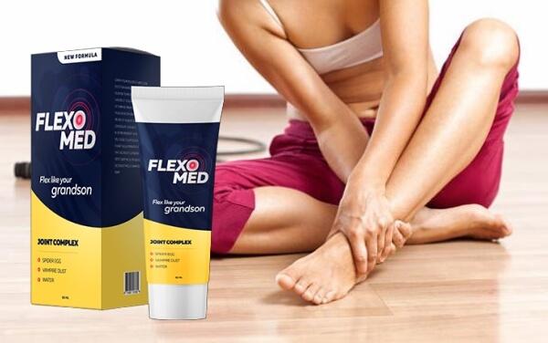 flexomed, mujer, dolor en las articulaciones, dolor en la rodilla