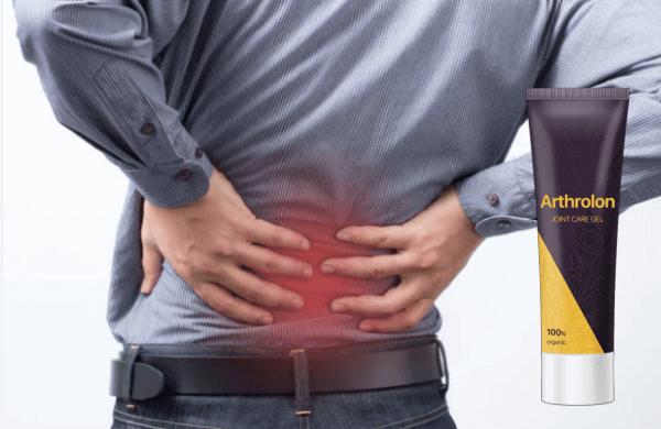 arthrolon crema, hombre, dolor de espalda