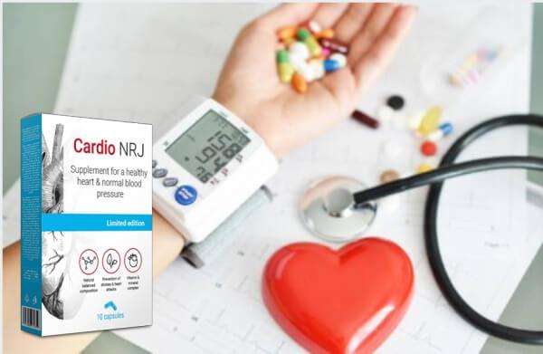 cardio nrj capsulas, Corazón, Hipertensión, Alta presión sanguínea