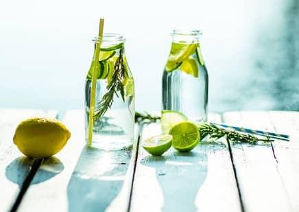 agua lemon limetta