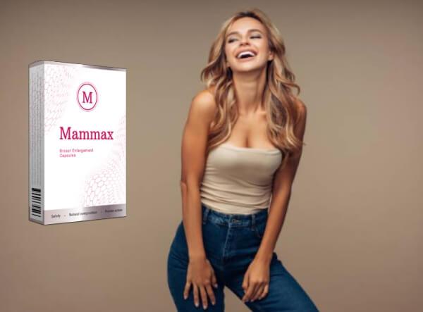 mammax capsulas, mujer, pechos, busto