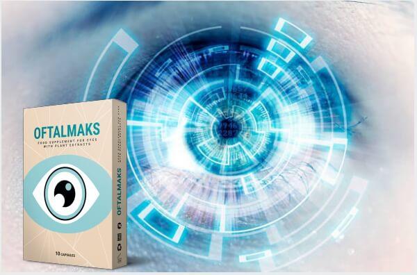 OftalMaks, cápsulas, ojo, visión