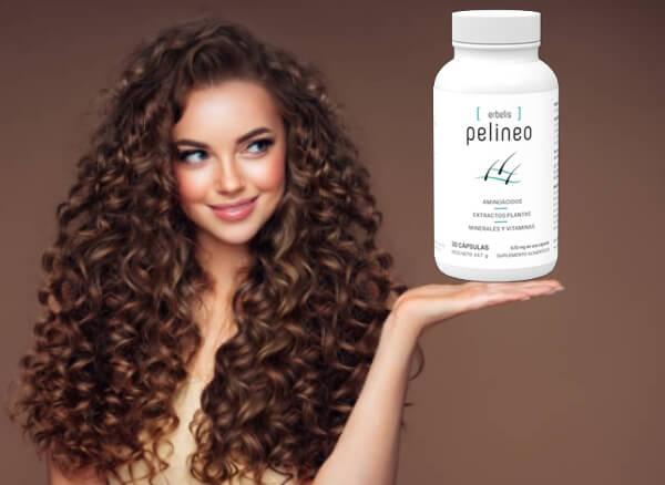 pelineo capsulas, cabello
