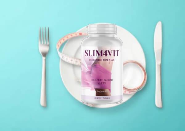 slim4vit cápsulas, adelgazamiento, dieta