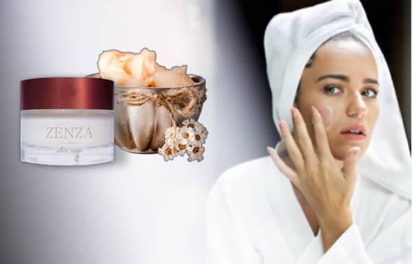 zenza cream, cuidado de la piel, crema facial