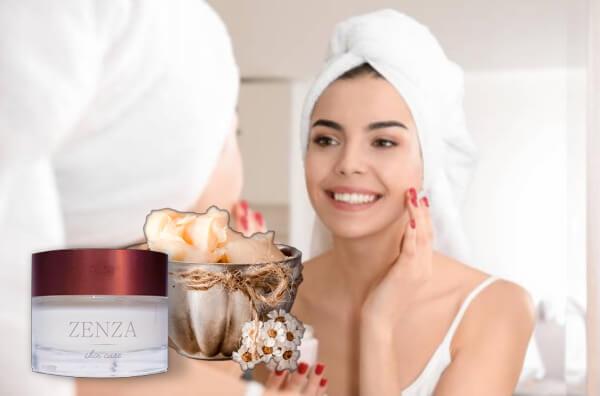 zenza cream, crema, mujer