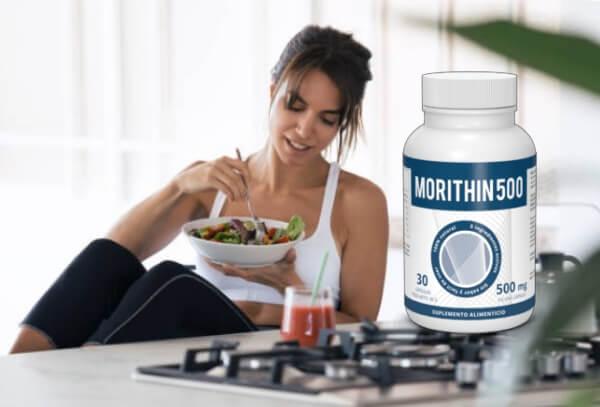 morithin 500 cápsulas pérdida de peso adelgazar mujer