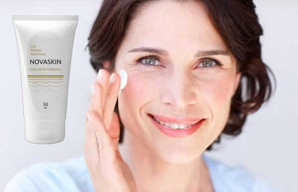 novaskin, crema, mujer antienvejecimiento arrugas