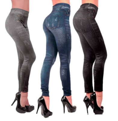 slim jeggings, Polainas