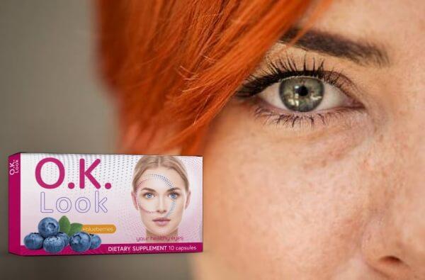 OK Look cápsulas ojos visión vista