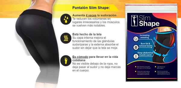 pantalon slim shape