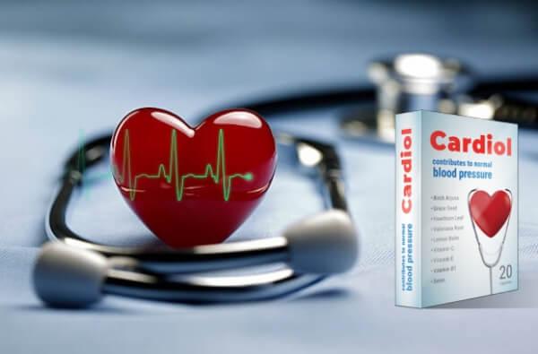 cardiol cápsulas corazón hipertensión