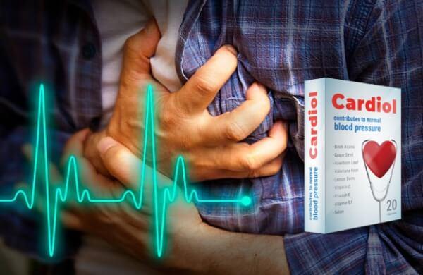 cápsulas corazón hipertensión