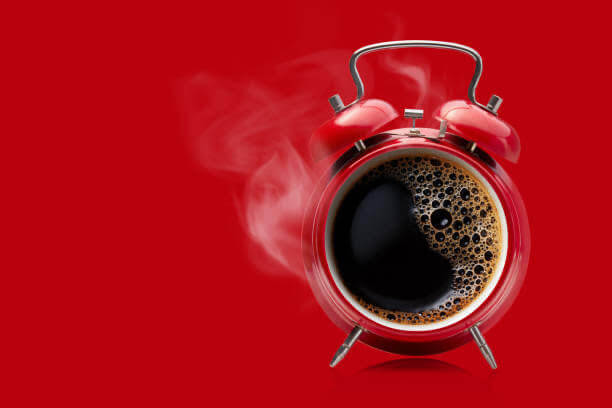 alarma, café