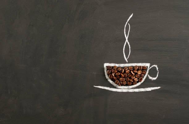 Cafeína, taza de café