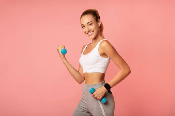 mujer, en forma, deporte