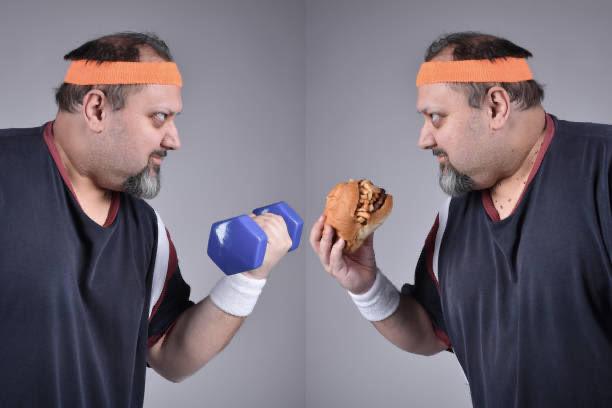 carbohidratos malos, tren, sano, insalubre