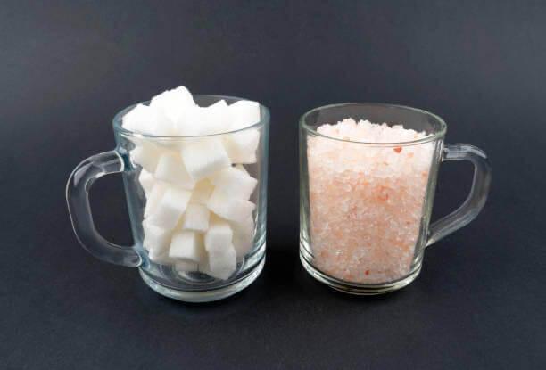 sal, Azúcar