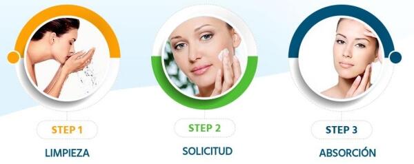 aplicar crema
