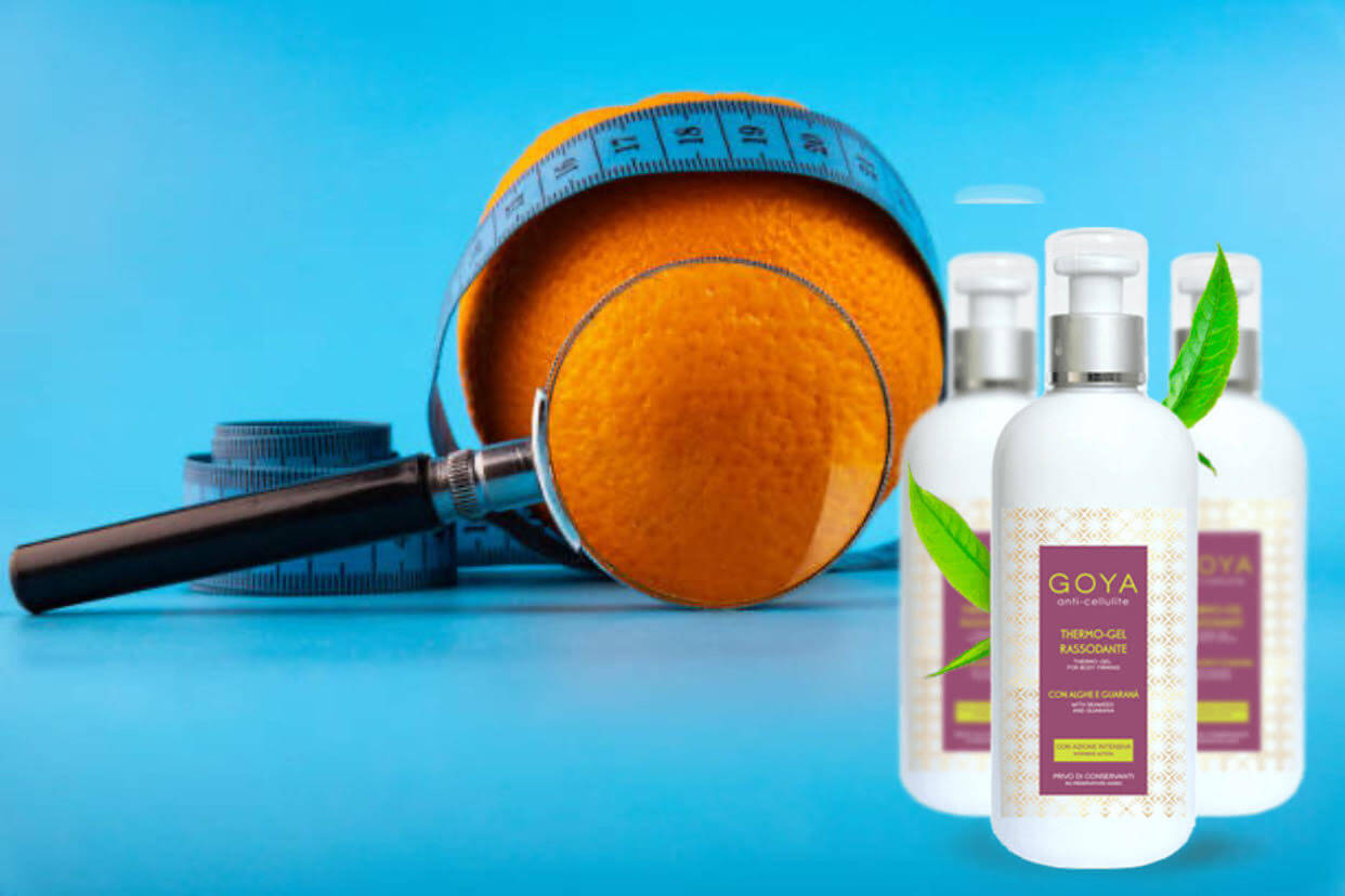 goya termo-gel anticelulítico, naranja, centímetro