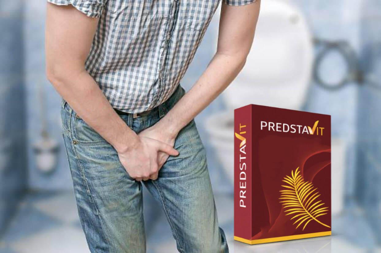 predstavit, hombre, próstata, dolor