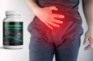 Erasmin – Remedio seguro y efectivo que apoya las dificultades urinarias, ayuda a detener las dificultades de la urinación y proporciona un alivio completo contra la prostatitis