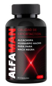 AlfaMan para la potencia 30 Capsulas Peru Colombia
