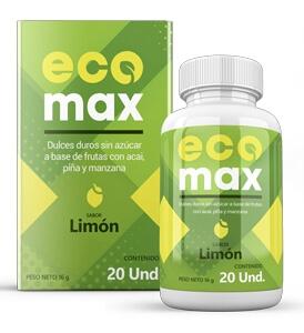 EcoMAX Limon 20 capsulas Peru
