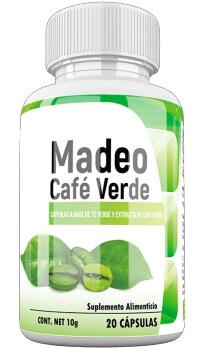 Madeo Café Verde 20 capsulas México