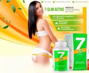 7Slim cápsulas – ¡Prepárate para el verano, remodela tu cuerpo!