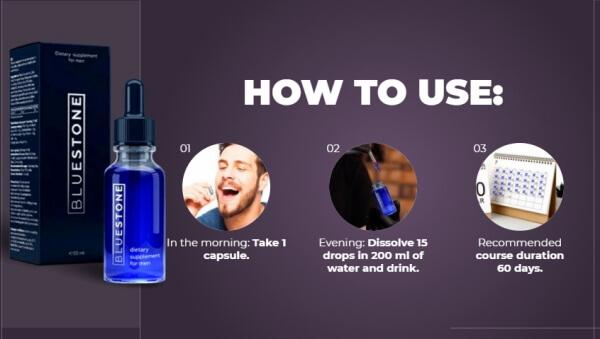 Cómo tomar Blue Stone