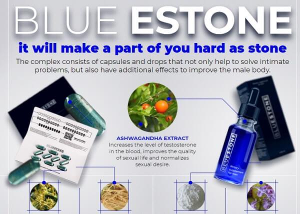 Blue Stone ingredientes