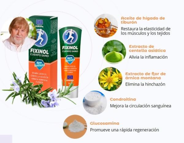 ingredientes composicion de gel