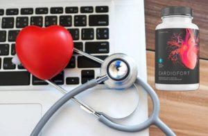 CardioFort Cápsulas para hipertensión y sistema cardiovascular