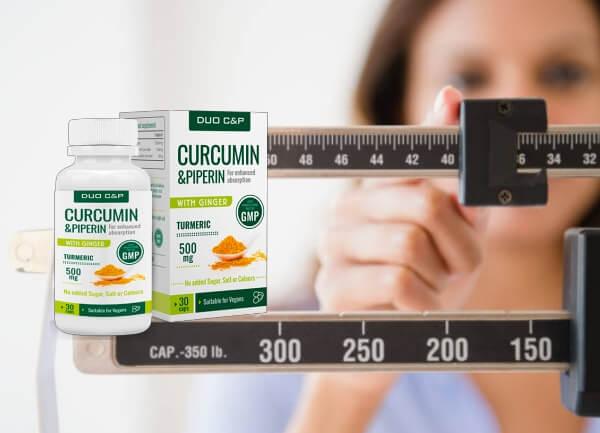 Curcumin y Piperin Cápsulas instruciones como tomar