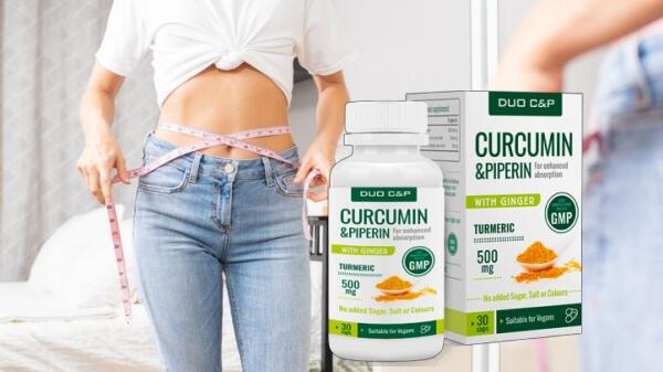 DUO C&P Curcumin Piperin Cápsulas precio España