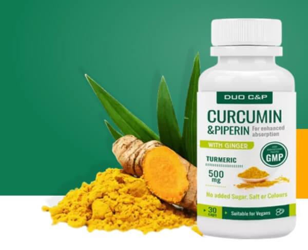curcumin piperin ingredientes